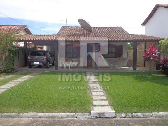 Excelente Casa, Mobiliada, 4 Quartos, 300 Mts Centro Comercial *ID: E-04